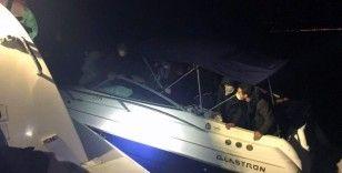 19 düzensiz göçmen kurtarıldı