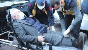 Otomobilin çarptığı yaşlı adam yaralandı