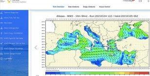 Denizcilerin ihtiyaç duyduğu tüm meteorolojik bilgiler tek sayfada toplandı