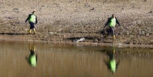 Barajlarda sular çekildi, sivrisinekle mücadele başladı