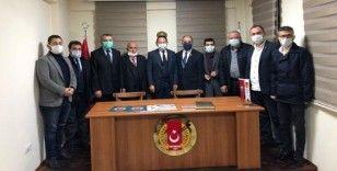 Cengiz Aygün, Kastamonu Gazeteciler Cemiyeti'ni ziyaret etti