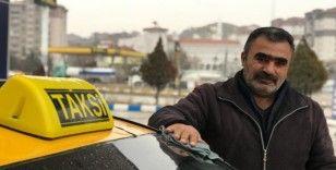 Taksiciden gönülleri fetheden davranış