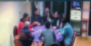 Evde kumar oynarken yakalanan 37 kişiye yüklü miktarda para cezası