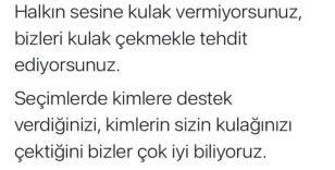 """CHP Genel Başkan Yardımcısı Öztunç'a """"kulak çekme"""" tepkisi"""