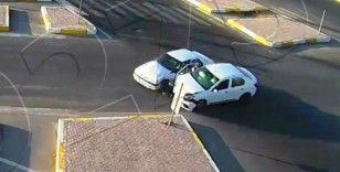 Şanlıurfa'da yaşanan kazalar kamerada