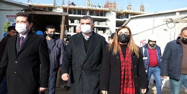 CHP heyeti Elazığ'da incelemelerde bulundu