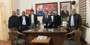 Cengiz Aygün Kastamonu Muhtarlar Derneği'nin onursal üyesi yapıldı