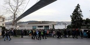 Boğaziçi Üniversitesi önündeki gösterilere ilişkin gözaltına alınanlardan 24'ü adliyeye sevk edildi