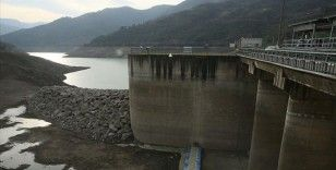 Kocaeli'deki Yuvacık Barajı'nın su seviyesi yüzde 14'e düştü