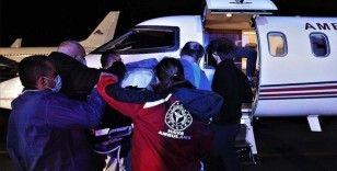 Kosova'daki patlamada ağır yaralanan 4 kişiden 2'si tedavi için Türkiye'ye getirildi