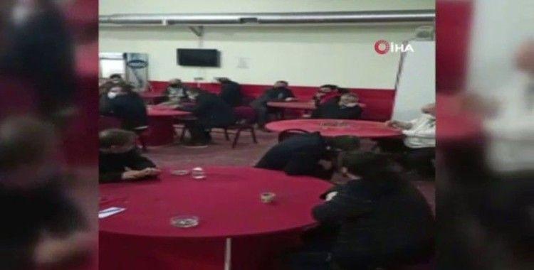 İzmir'de suçüstü kumar baskını: 75 kişiye 635 bin 850 TL para cezası