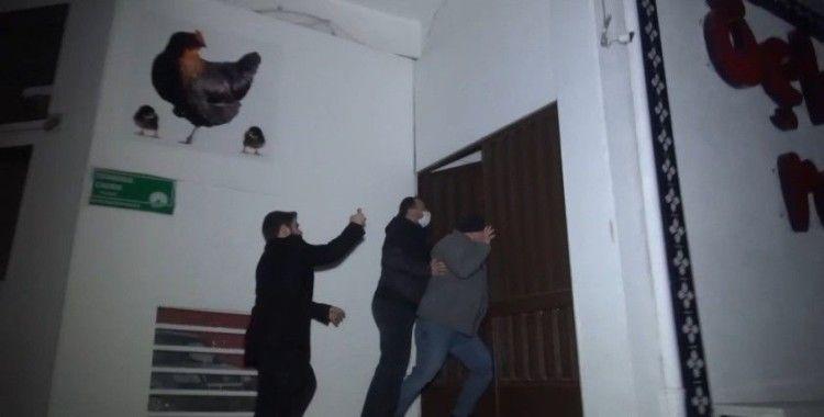 Kaçak kumarhaneye korona baskını