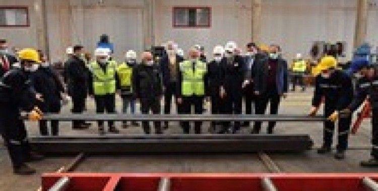 Vali Karaloğlu'ndan, Organize Sanayi Bölgesine ziyaret