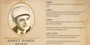 Türkiye Cumhuriyeti'nin üçüncü Diyanet İşleri Başkanı Akseki'nin vefatının üzerinden 70 yıl geçti