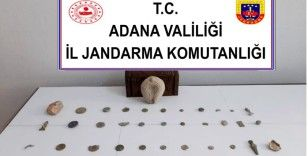 Adana'da tarihi eser kaçakçılığı yapan 2 kişi yakalandı