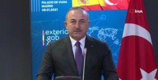 """Çavuşoğlu: """"Savunma sanayiinde İspanya ile işbirliğimiz her geçen gün güçleniyor"""""""