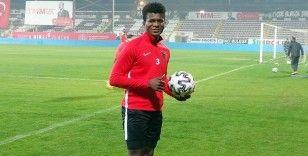 A. Hatayspor'a 23 yaşında Liberyalı Forvet