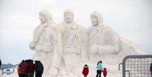 Kardan şehit heykellerinin yapımı tamamlandı