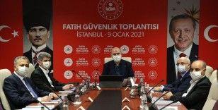 İçişleri Bakanı Soylu Fatih Güvenlik Toplantısı'na katıldı