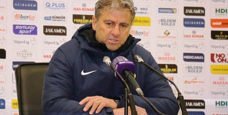 Hamza Hamzaoğlu: 'Sahada futbol adına bir şey ortaya koyamadık'