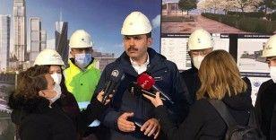 """""""2021 yılı Aralık ayı itibariyle finans merkezi inşaatımızı tamamlamış olacağız"""""""