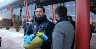 Fenerbahçe kafilesi Erzurum'da