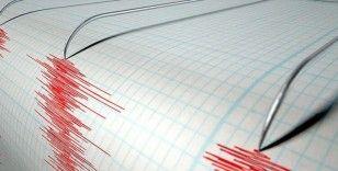 Ankara depreminde bir ev hasar gördü