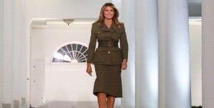 First Lady Melania Trump'tan Kongre baskını açıklaması