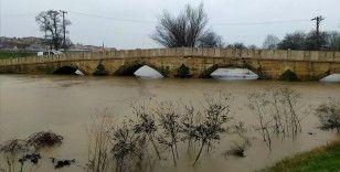 Tunca Nehri için alarm seviyesi 'turuncu'ya yükseltildi