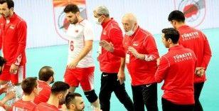 A Milli Erkek Voleybol Takımı, Avrupa Şampiyonası Elemeleri'ne galibiyetle başladı