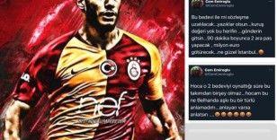 """""""Kesinlikle bir bedeviyim ama Galatasaray'ı seven ve temsil eden bir bedeviyim!"""""""
