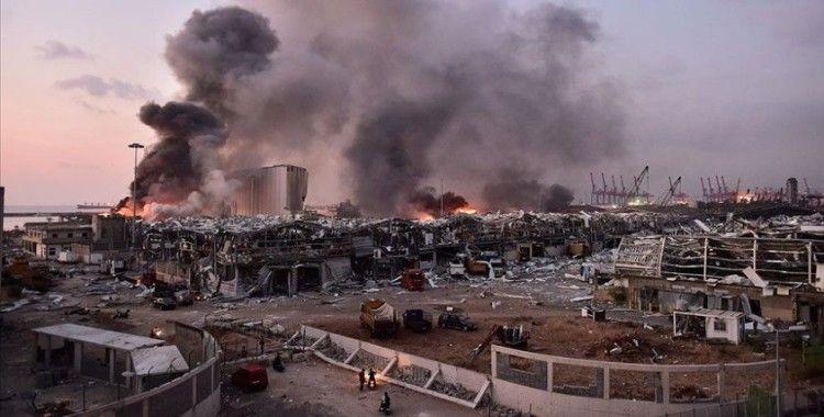 Interpol Beyrut Limanı'nda infilak eden patlayıcıyla ilgili 3 kişi için kırmızı bülten çıkardı
