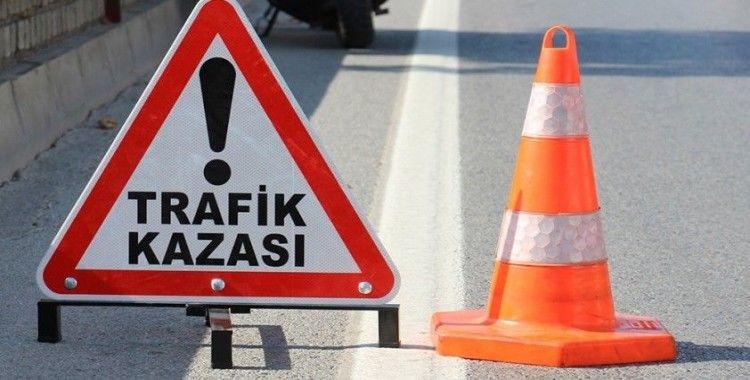 Tem Otoyolu Avcılar Gişeler Mevkii Ankara istikametinde zincirleme trafik kazası meydana geldi