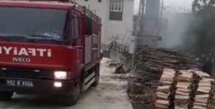 Ordu'da fırtına, trafo yangınına yol açtı
