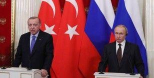 Cumhurbaşkanı Erdoğan Putin ile Karadağ'ı görüştü