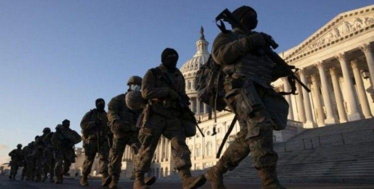 Trump'ın azline karar verilmesi sonrası Washington DC'de güvenlik artırıldı