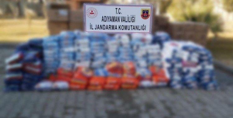 Jandarma sahte temizlik ürünleri ele geçirdi