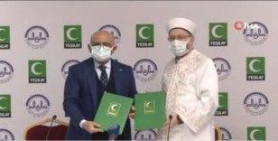 Diyanet Başkanlığı ve Yeşilay arasında 'Bağımlılıkla mücadele' protokolü