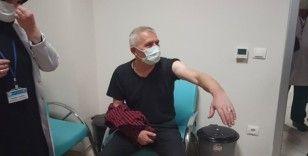 Kastamonu'da ilk Kovid-19 aşısı yapıldı