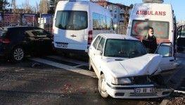 Elazığ'da zincirleme kaza