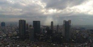 İstanbul'un Avrupa yakasında kar manzarası erken bitti