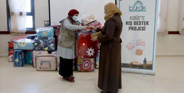 Burak Derneği geçen yıl da hak ihlallerinin yaşandığı Kudüs'e yardımlarını sürdürdü