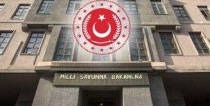 MSB: Mehmetçiğimize yardımlarını esirgemeyen asil milletimizin her bir ferdine minnettarız