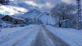 Tunceli'de kar 132 köy yolunu ulaşıma kapattı