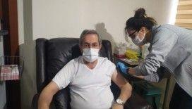 Ankara Üniversitesi Rektörü Prof. Dr. Ünüvar da aşı oldu