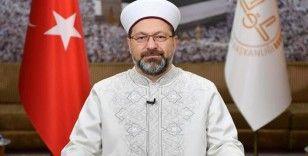 Diyanet İşleri Başkanı Erbaş, Suriye İslam Meclisi Başkanı Rufai'yle görüştü