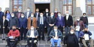 Diyarbakır Sanayi Mektebinde engellilere drone eğitim sertifikası verildi