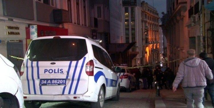 Beyoğlu'nda bir otelde intihar girişimi