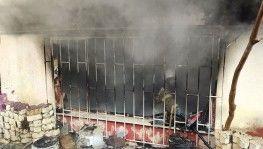 Aliybeyköy'de yangın paniği