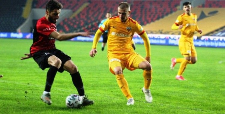Gaziantep FK: 2 - Kayserispor: 1